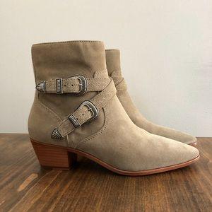 FRYE Ellen Buckle short ankle boot
